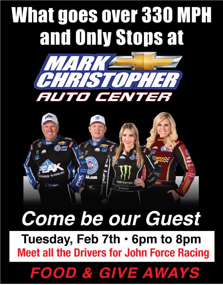 Meet Jfr Drivers At Mark Christopher Auto Center