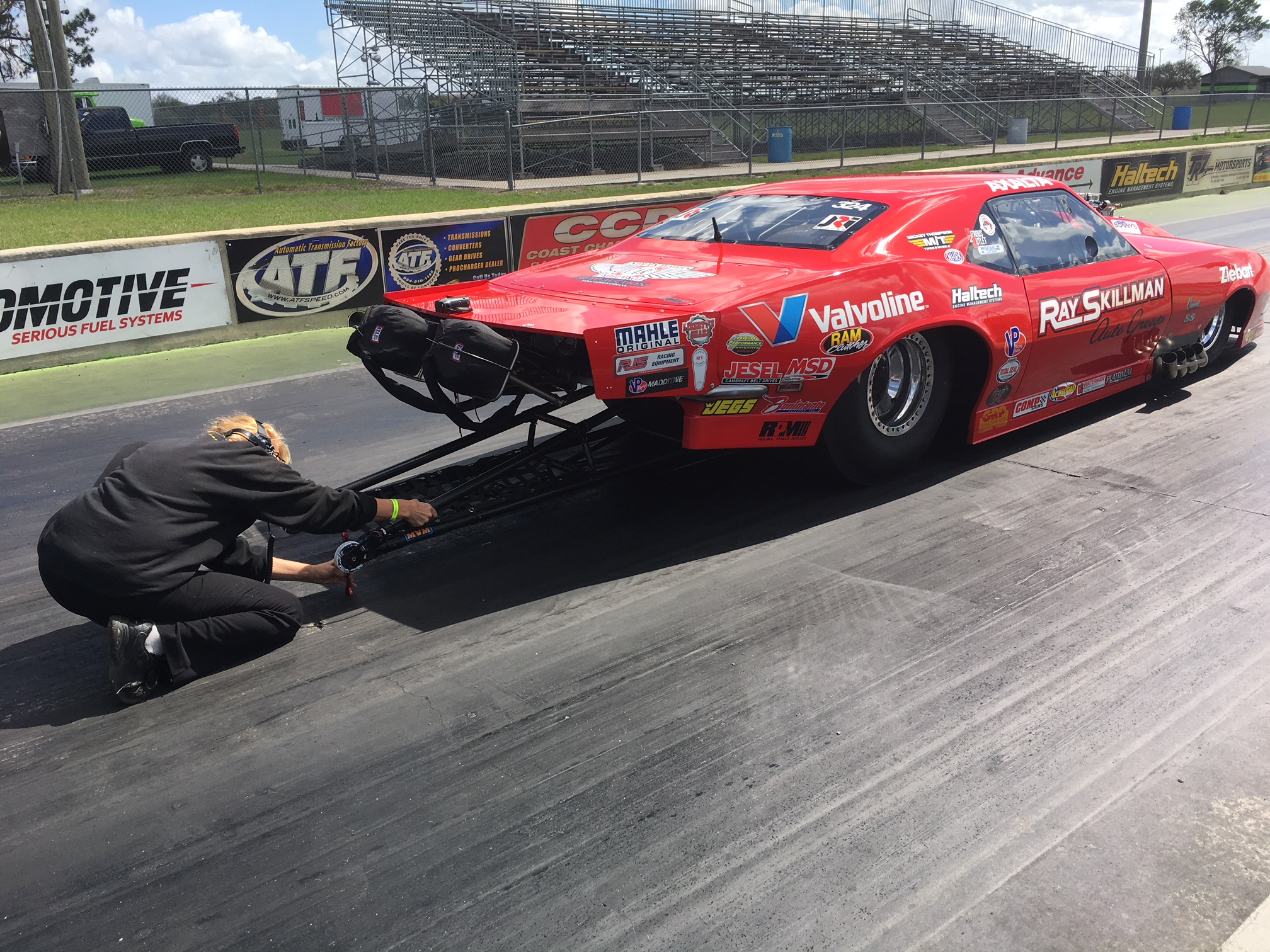 A YEAR OF PERSONAL MISFORTUNE ERASED WITH ONE BILLY GLIDDEN RUN