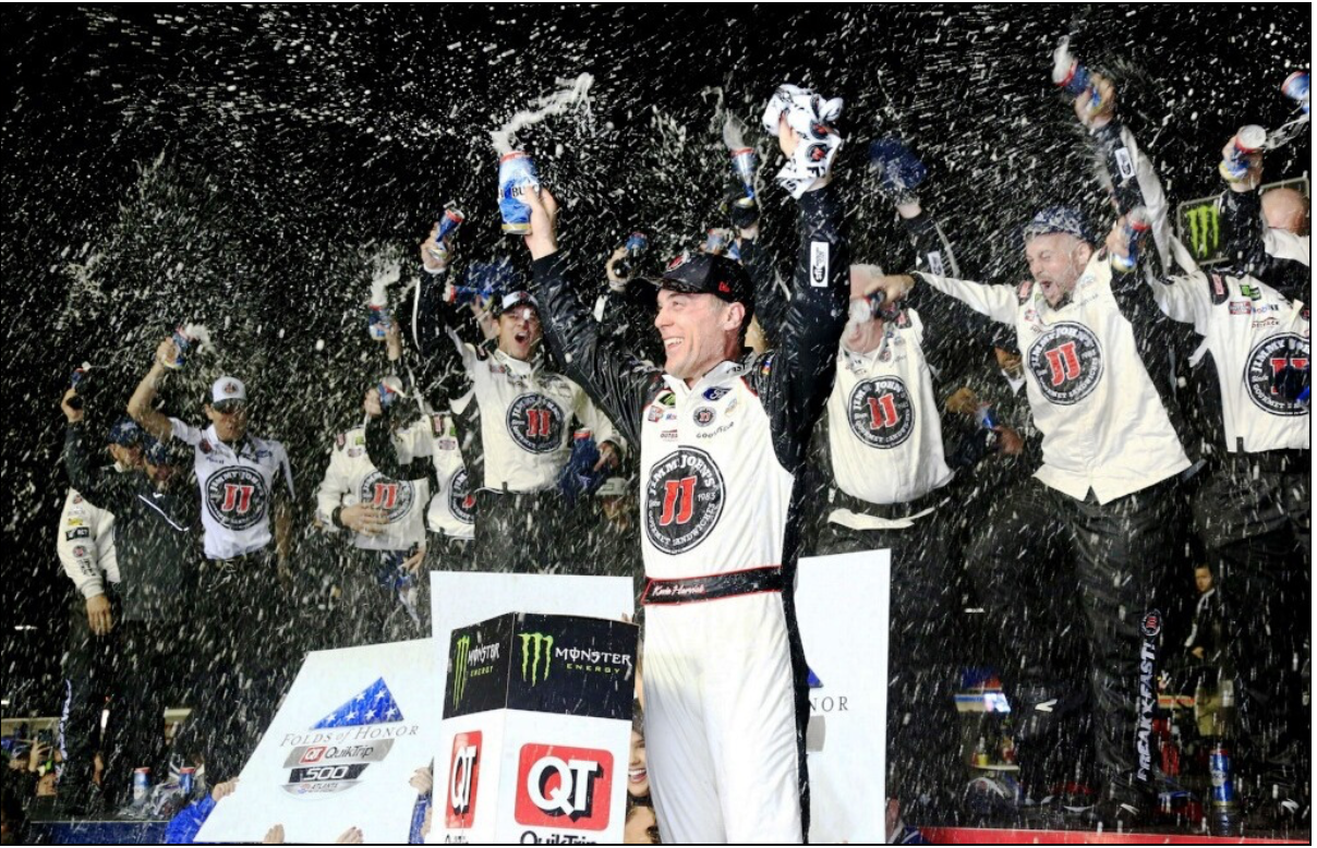 CP MOTORSPORTS - HARVICK FINALLY BACK IN VICTORY LANE | Competition Plus