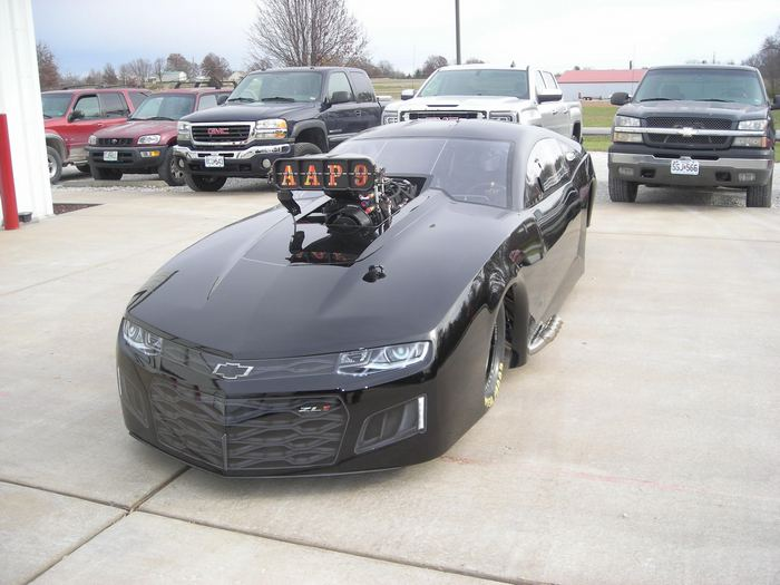Spy Shots New Camaro Zl From Jerry Bickel Race Cars For