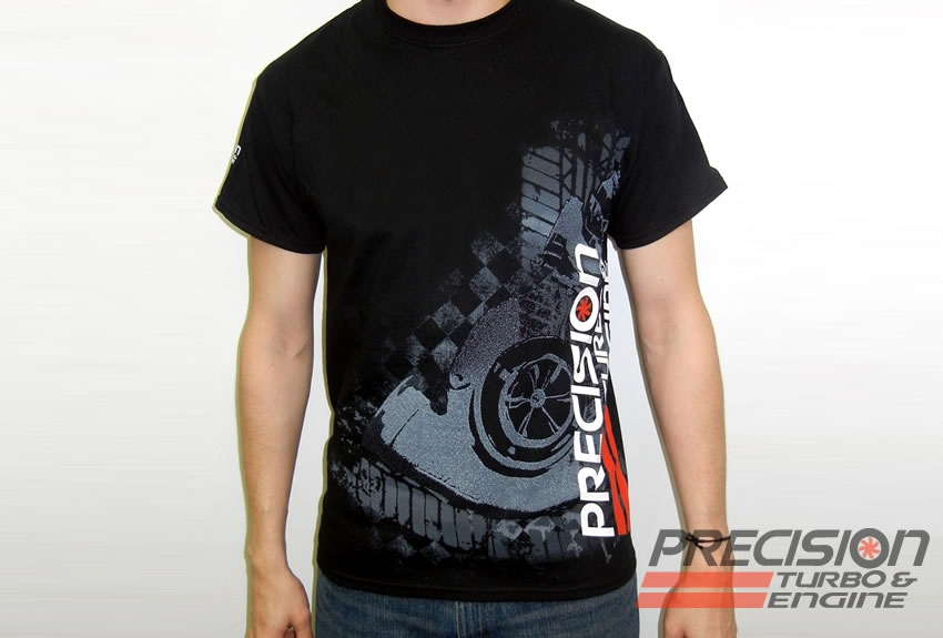 PRECISION TURBO AND ENGINE T-SHIRT | Competition Plus