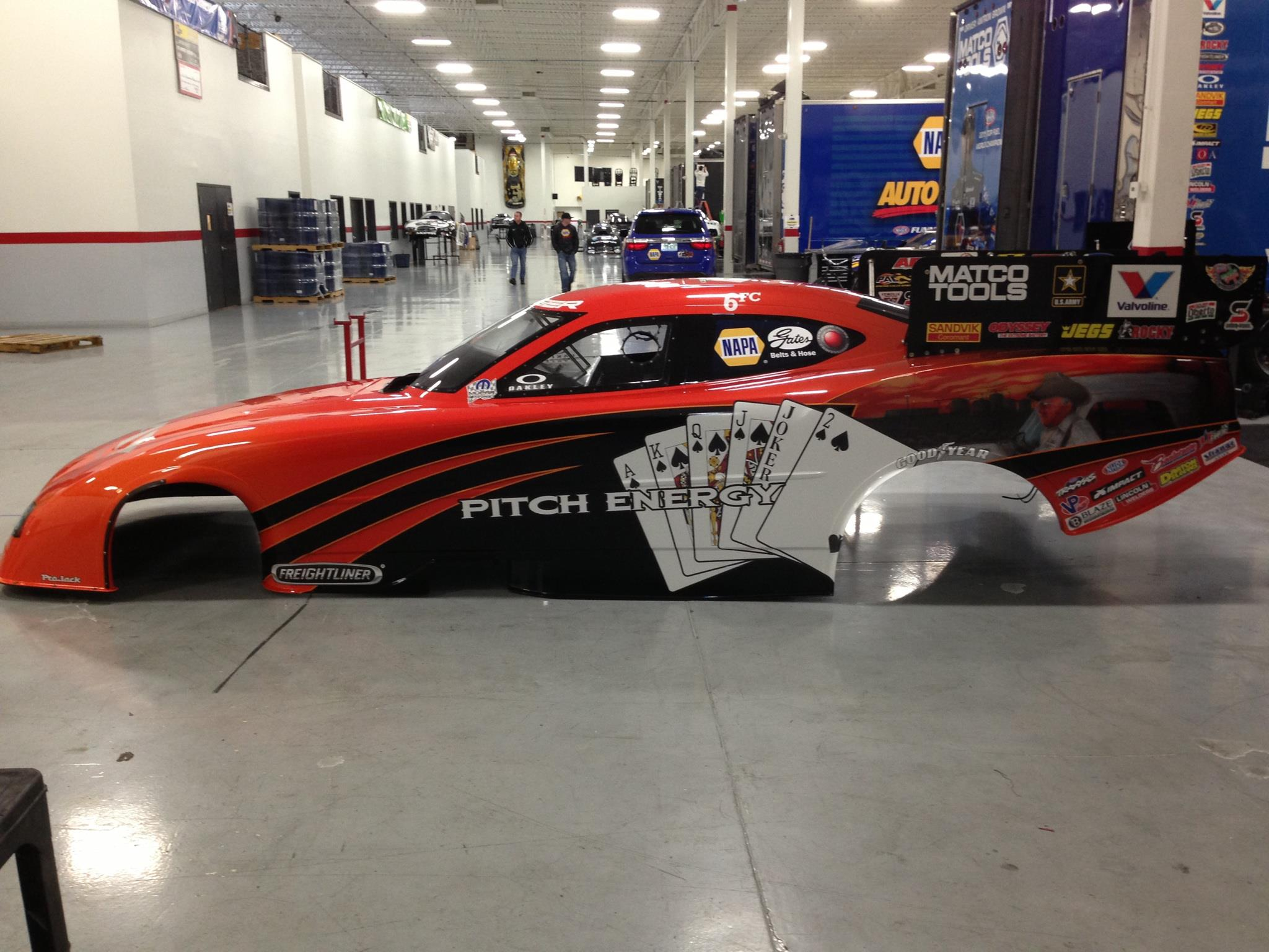 sneak peek: johnny gray's pitch energy funny car | competition plus