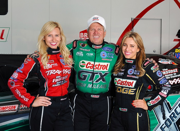 John Force Has His Coming To Reality Meeting Competition