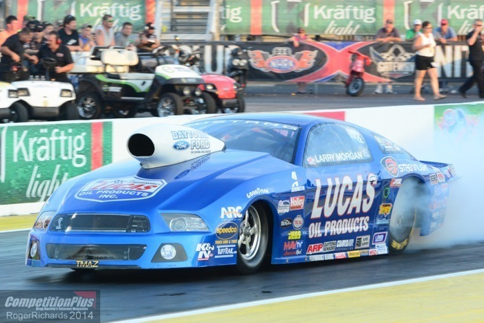 Morgan Finished With Ford Program Maybe Pro Stock Too