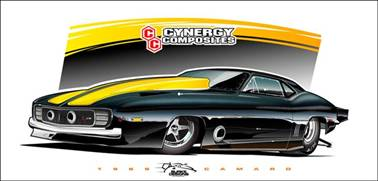 Cynergy Composites To Unveil Lightweight 1969 Camaro Body Competition Plus