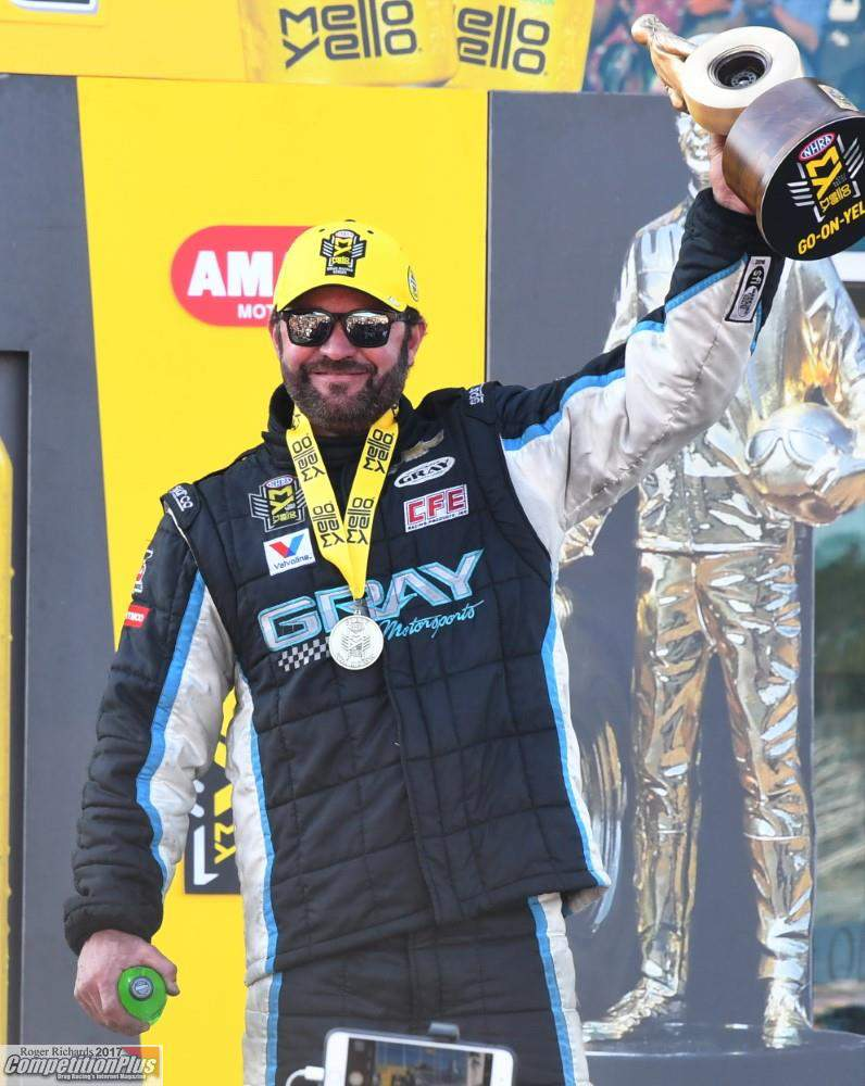 Shane Gray Captures Gatornationals Pro Stock Victory Competition Plus